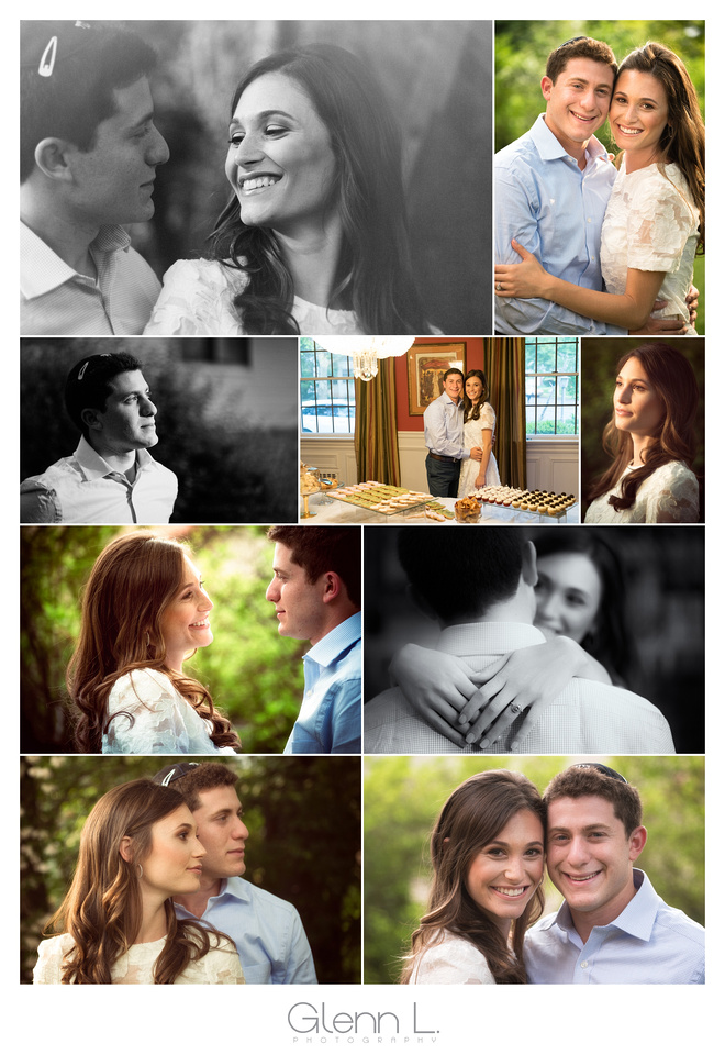 Engagement Party Photo Collage